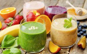 фруктовые смузи для сыроедов