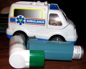 Бронхиальная астма у детей помощь