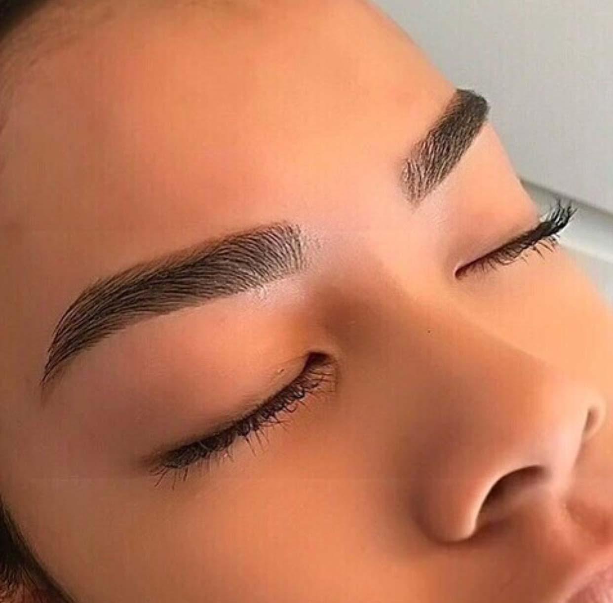 Татуаж бровей волосковым методом - что это такое