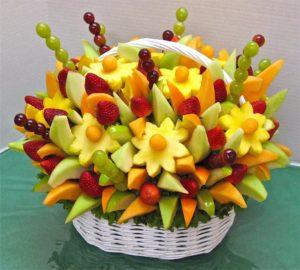 Корзина из фруктов
