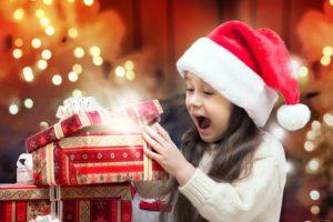 Подарки для детей на Новый год 2018