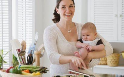 Питание корящей мамы