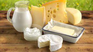 молочные и кисломолоные продукты