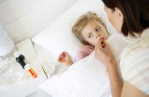 Лечение кори у детей