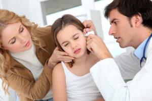 Лечение острого отита у детей