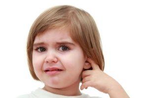 Симптомы острого отита у детей