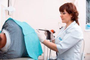Диагностика анальной трещины