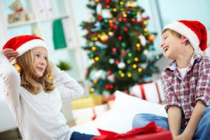 Новогодние опыты и конкурсы для детей