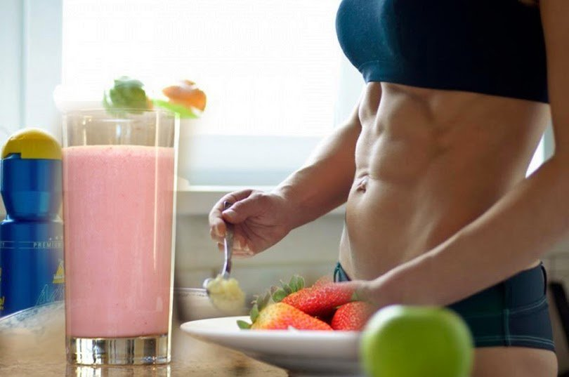 Как похудеть принимая белок