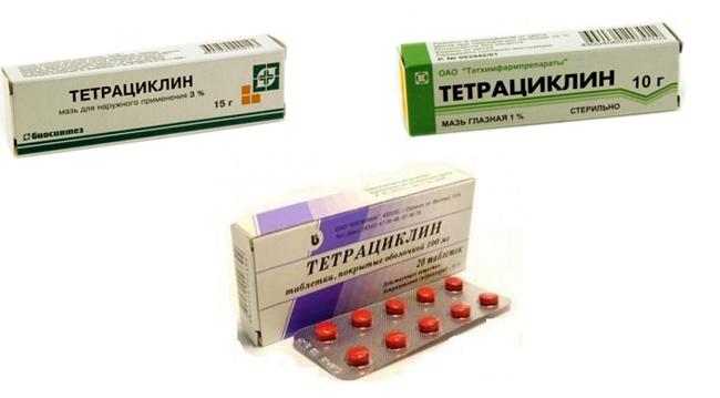 Антибиотики тетрациклины описание и список препаратов Тетрациклин