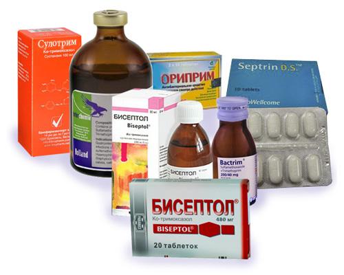 Список препаратов и общие свойства сульфаниламидов
