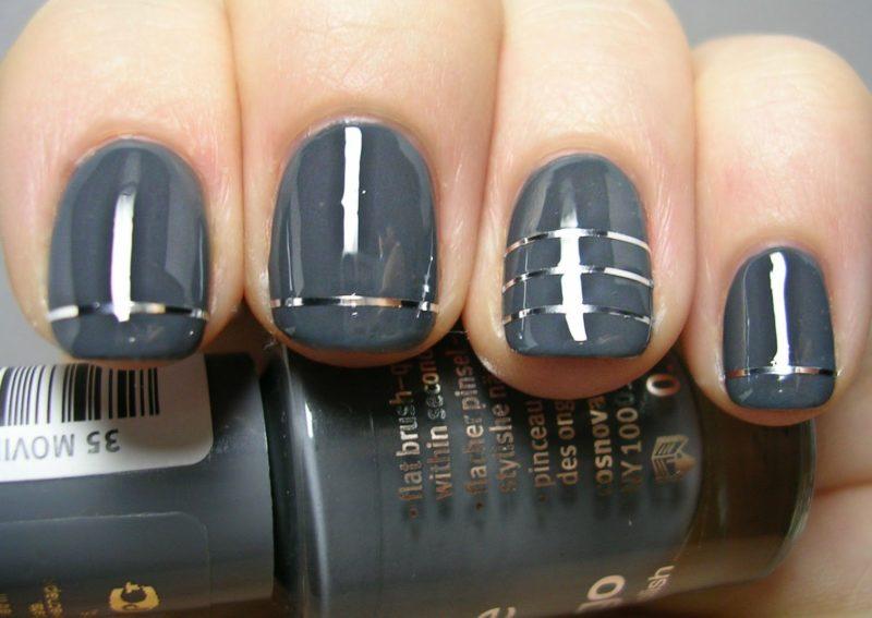 идеи маникюра на короткие ногти модные тенденции