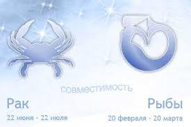 Совместимость знаков зодиака Рак и Рыба в любви и браке