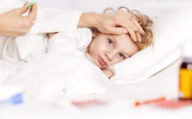 Как сбить температуру у ребенка при помощи уксуса