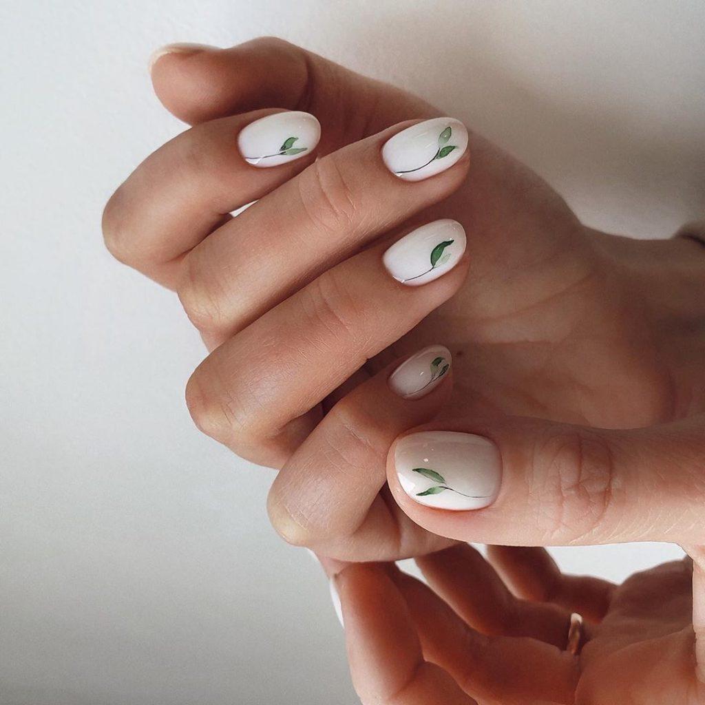 Ногти весенний маникюр