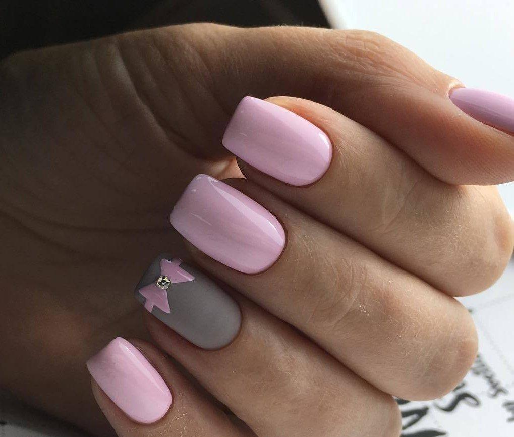 Ногти нежные цвета дизайн фото