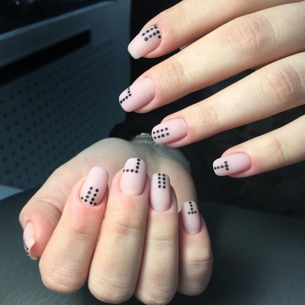 Ногти осенний дизайн