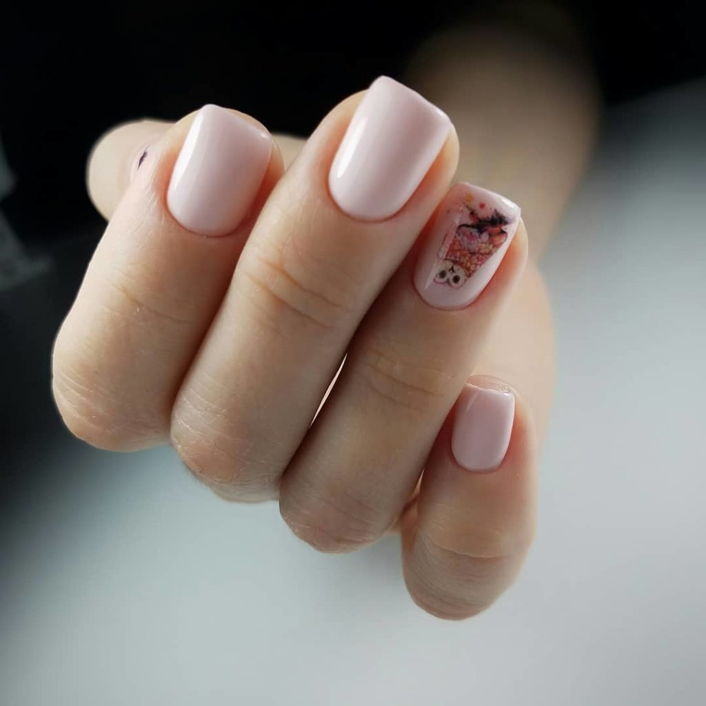 Ногти зимний дизайн