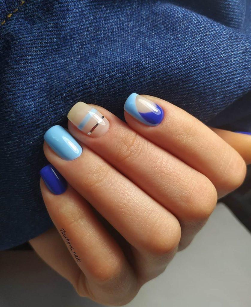 Ногти рисунок геометрия