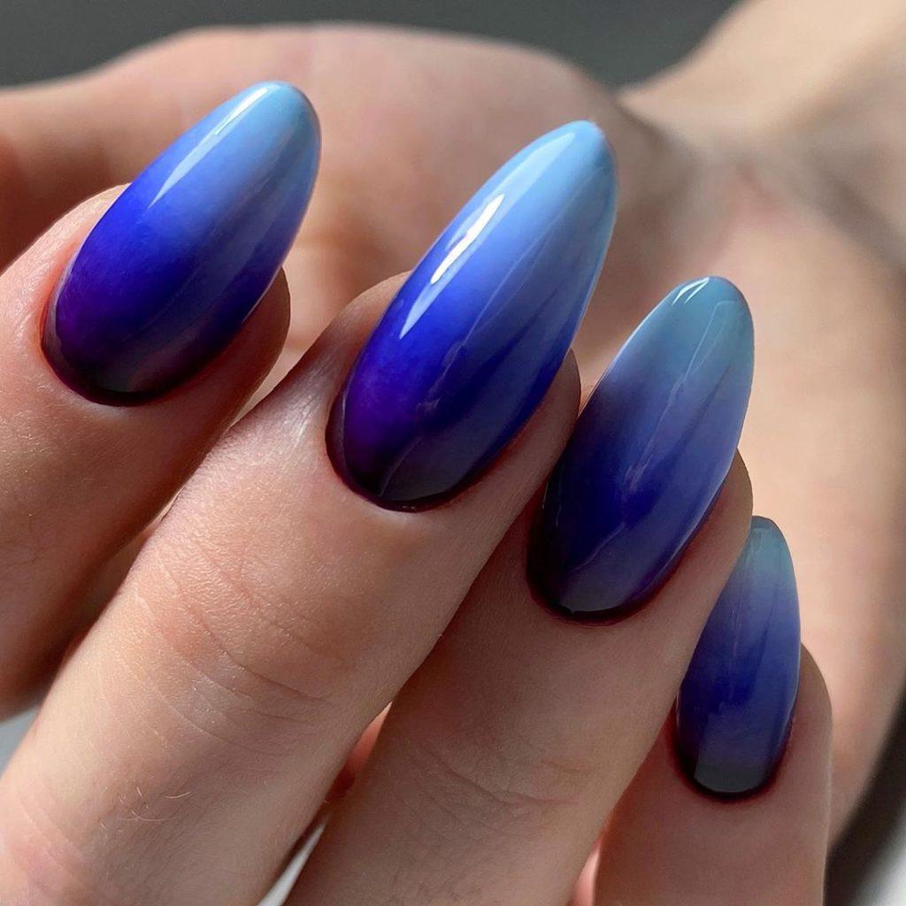 Омбре на ногтях