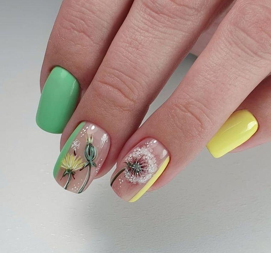 Ногти лето