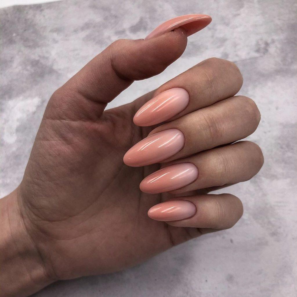 Омбре дизайн ногтей