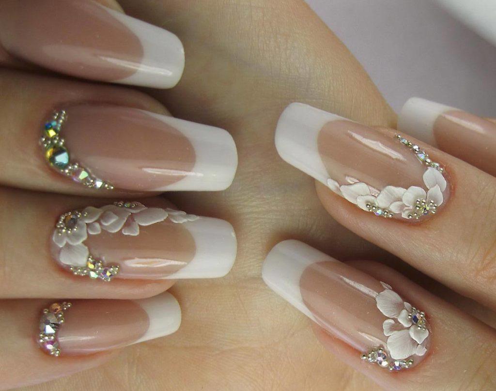 Ногти свадебный дизайн