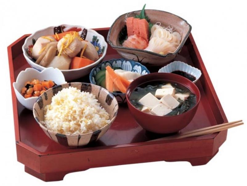 Продукты на японской диете