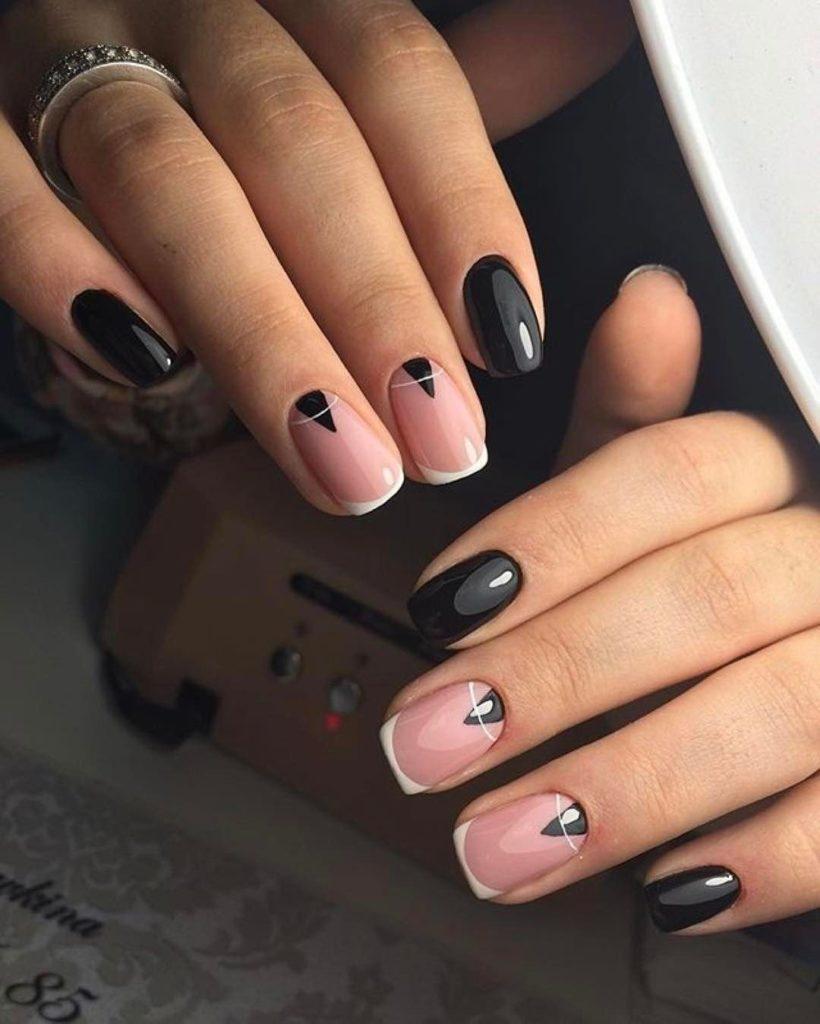 Ногти стиль минимализм