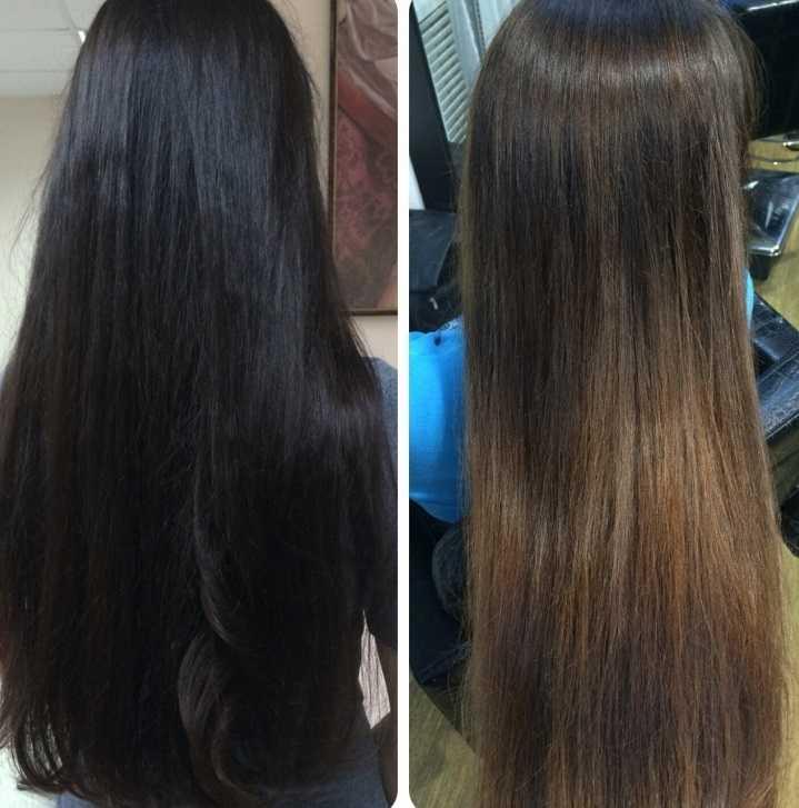 Смыть волосы кефиром фото до после
