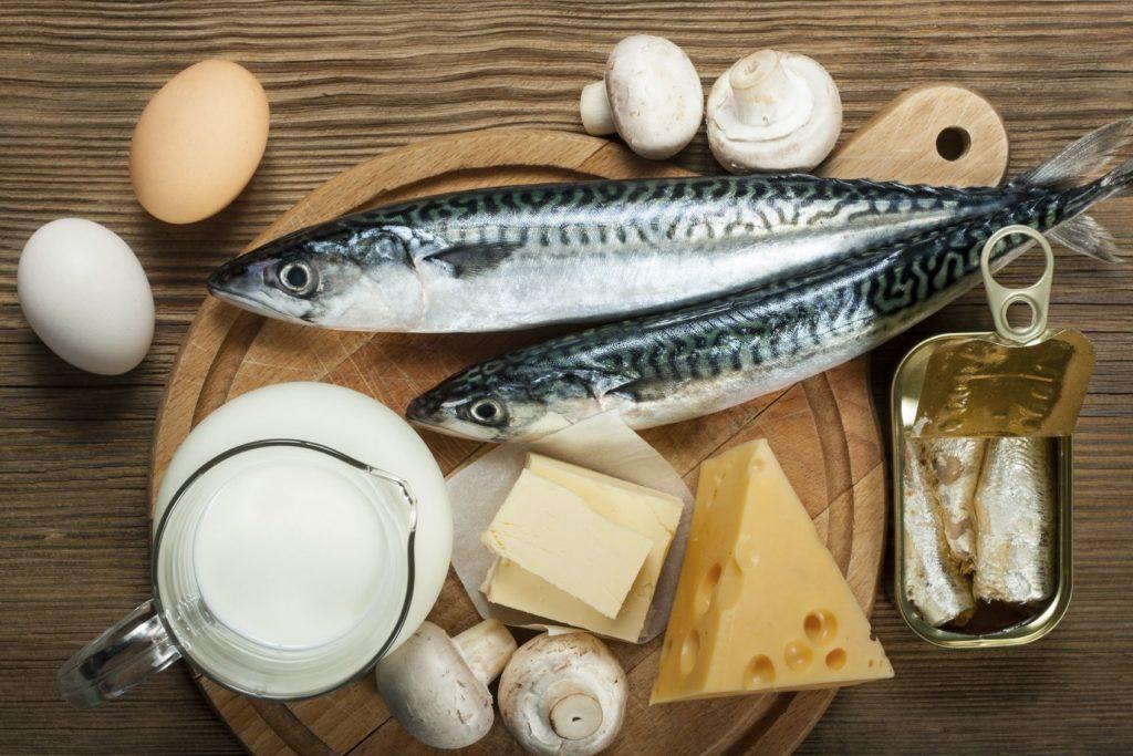 Витамин D продукты